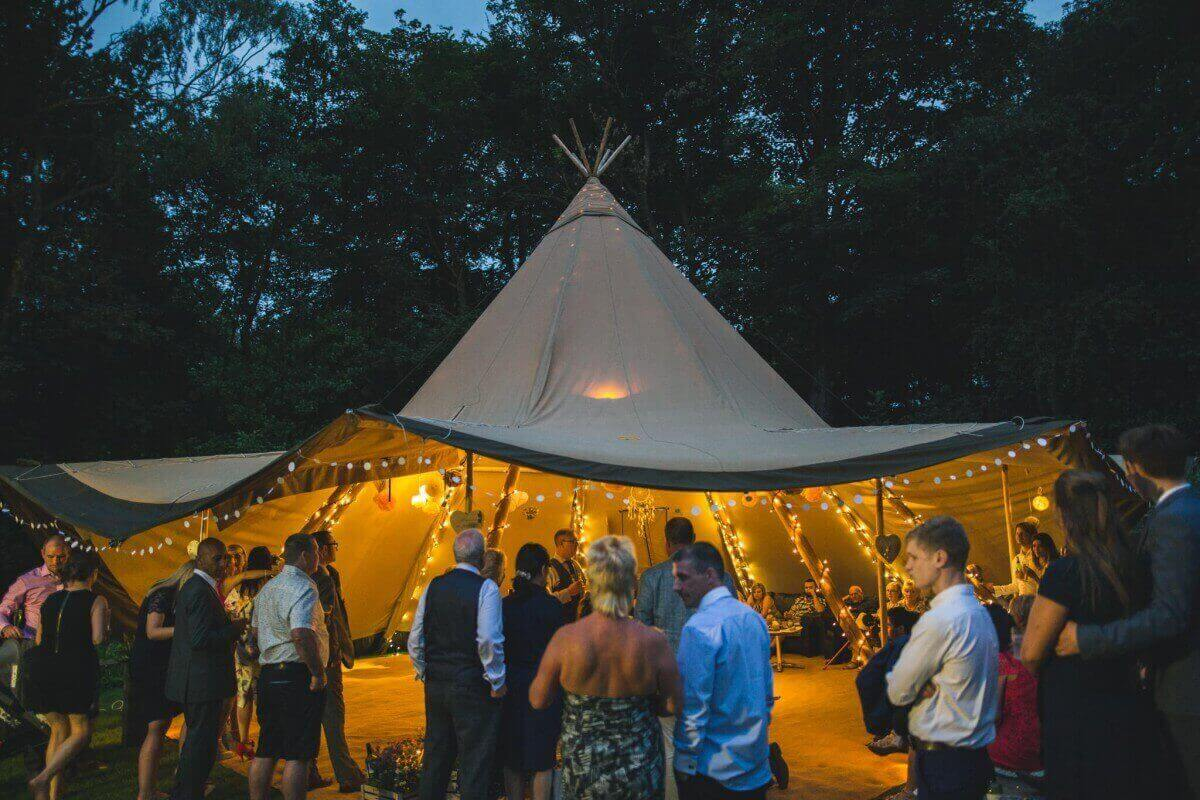 Festival style weddings and parties