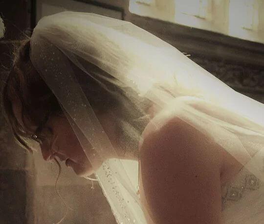 Bride head shoot photo